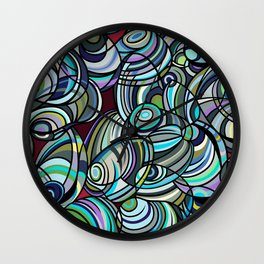 Mussel Beach Wall Clock