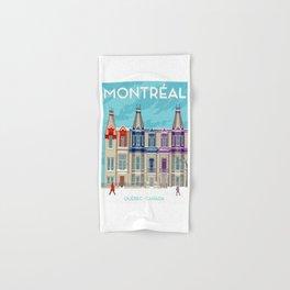 Montreal - Quebec - Canada Hand & Bath Towel