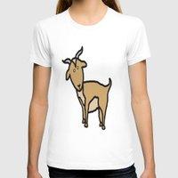 goat T-shirts featuring Goat by Luke Roach