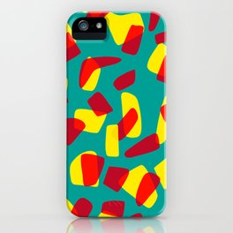 happy shapes iPhone Case