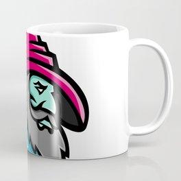 Wizard With Stars Mascot Coffee Mug