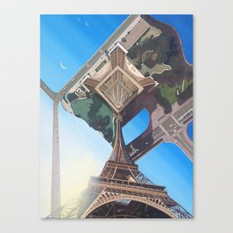 Don't Look Up Canvas Print
