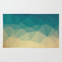 Abstract geometric background Rug