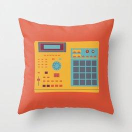 World of Stereo: Akai MPC 2000XL Throw Pillow