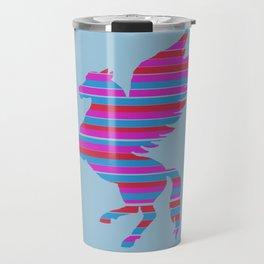 Pegasus Stripes Travel Mug