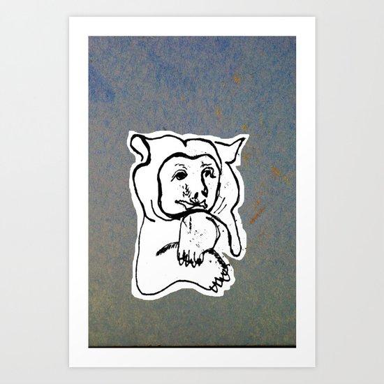 Bear 4 Art Print