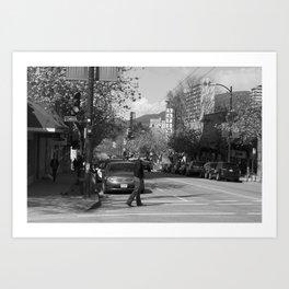 Davie 2 Art Print