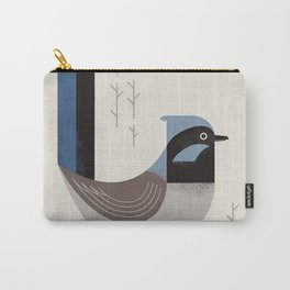 Superb Fairywren, Bird of Australia Carry-All Pouch