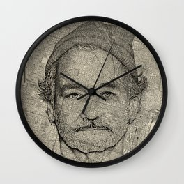 Bill Wall Clock