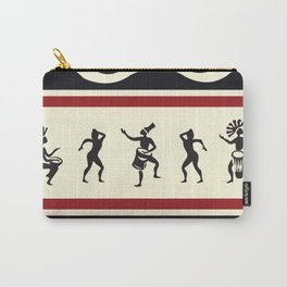 African Tribal Pattern No. 1 Carry-All Pouch