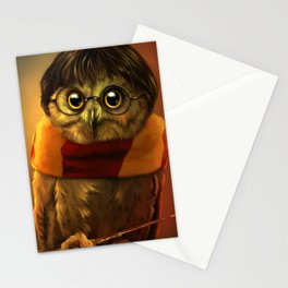 the owl who lived Stationery Cards