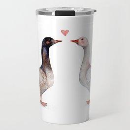 Geese Love Travel Mug