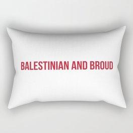 Proud x Red Rectangular Pillow