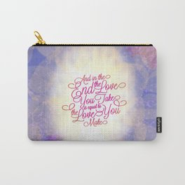 TYPOGRAPHY DESIGN Carry-All Pouch