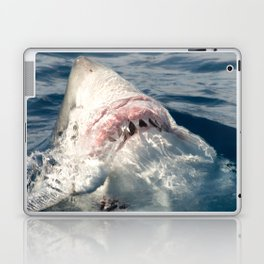 White Shark Carcharadon carcharias Laptop & iPad Skin