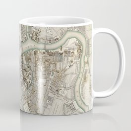 Vintage Map of St Petersburg Russia (1834) Coffee Mug