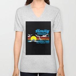Amity Island Unisex V-Neck
