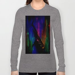 Midnight Sax Long Sleeve T-shirt