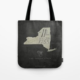New York: the Eleventh State Tote Bag