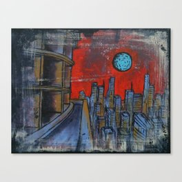 Doom City: Paradigm Canvas Print