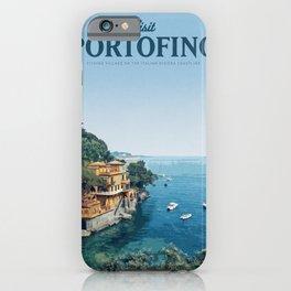 Visit Portofino iPhone Case
