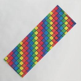 Pixel Spectrum by Sunny Yoga Mat