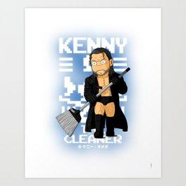 Kenny Omega Art Print