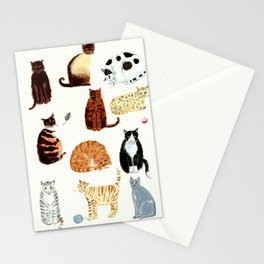 Cats Stationery Cards