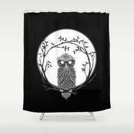 SPECTAC-OWL Shower Curtain