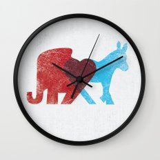 Share Opinions Wall Clock