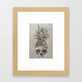 PineSkull Framed Art Print