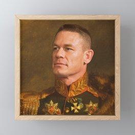 John Cena - replace face Framed Mini Art Print