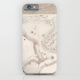 Johann Bayer - Uranometria / Measuring the Heavens (1661) - 19 Pegasus iPhone Case