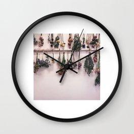 Korean Flower Shop Wall Clock