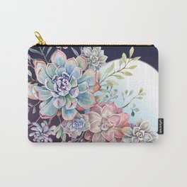 succulent fullmoon 7 Carry-All Pouch