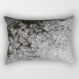 Frost Drops Rectangular Pillow