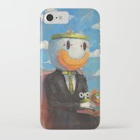 super mario iPhone & iPod Cases featuring Mario by Ronan Lynam