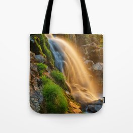Glowing Loup of Fintry Waterfall Tote Bag