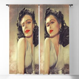 Ann Miller, Hollywood Legend Blackout Curtain