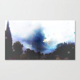Sunshine through the rain Canvas Print