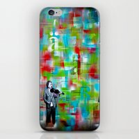 einstein iPhone & iPod Skins featuring Einstein by Bili Kribbs