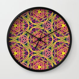 Love Threads Wall Clock