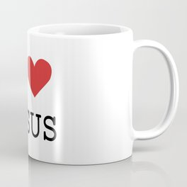 Christian,Bible Quote,I love Jesus Coffee Mug