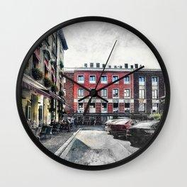 Cracow art 4 Kazimierz #cracow #krakow #city Wall Clock
