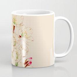 Yoshino Cherry Blossoms ~ Vintage Japan Art Coffee Mug