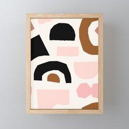 Paper Pieces 1 Framed Mini Art Print