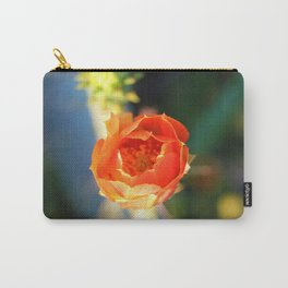 Sunrise Cactus Bloom Carry-All Pouch