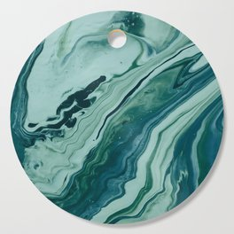 Blue Planet Marble Cutting Board