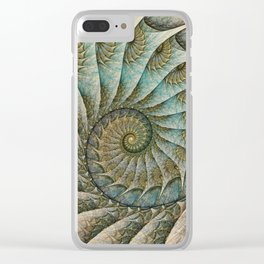 Kanagawa Revisited Clear iPhone Case