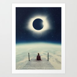 Blissful Solitude Art Print